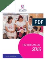 Raport Anual Samas 2016