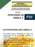 Funciones de Los Omega 3