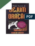 O Poder Secreto Do Jejum e Da Oracao - Mahech Chavda