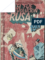 Comic Revolución Rusa