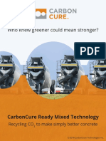 CarbonCure Ready Mixed Technology Brochure