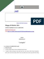 askep laringitis
