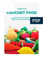 Crochet Fruit Vegetables