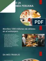 El Boom de La Gastronomía Peruana en Cifras