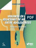 Resumen Ejecutivo Violencia en Las Relaciones de Noviazgo Entre Adolescentes en Brasil y Honduras