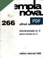 Schnittke - Piano Sonata No 3 (Appunti)
