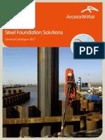 Catalog Sheet Piles ARCELOR