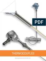 Thermocouples Catalogue
