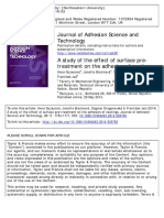 A Study of the Effect of Surface Pretreatment