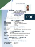 Gregoris Curriculum