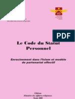 Code Statut Personnel
