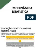 Aula 6 - Termodinâmica Estatistica