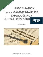 Harmonisation Gamme Majeure v1.0