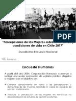 Encuesta Humanas 2017 - Violencia