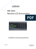 LT-2017 MR-2644 Installation Manual