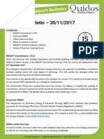 Quidos Technical Bulletin - 30/11/2017