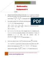 Mathematics Assignment P5