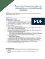 Requisitos Para Demolicion de Edificacion de Mas de 4 Pisos