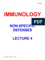 3-d Immune Colored Lecture