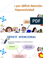 Deficit Atencional e Hiperactividad