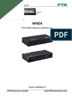 Ptn User Manual Whd42013v1.1