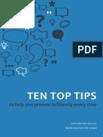 JH 10 Top Tips Mar 151