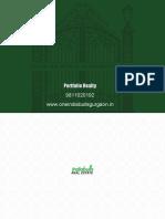 One IndiaBulls Gurgaon Brochure