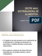 Distri Max, Distribuidora de Alimentos Gestión 2013_.