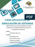 Trabajo Simulacion de Sistemas Avance II
