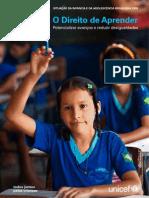 Situacao da Infancia e da Adolescencia Brasileira 2009 - O Direito de Aprender