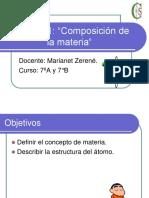 UnidadNº1composicion de La Materia 2013