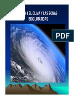 Tema 4 El Clima y Las Zonas Bioclimáticas