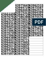 Formato Numeros Chip Entel 6