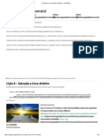 Salvação e Livre-Arbítrio (Lição 8) - SUBSÍDIO - Por Tiago Rosas - 12P