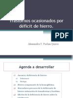 Deficit de Hierro Pachas Ales Sandra