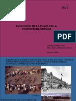 Evolucion de La Plaza