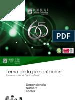 Plantilla Para Presentaciones 2016