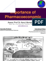 Lecture 1 Importance of Pharmacoeconomics v2