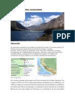 Parque Nacional Huascaran