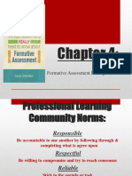 Formative Assessment During Instruction Chapter 4