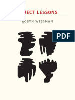 Wiegman Object Lessons