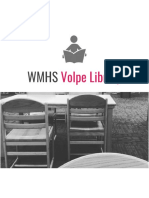 2018-2019 WMHS Volpe Library Budget Request