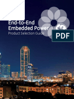 End to End Embedded Power Product Selection Guide