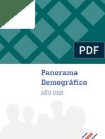 Boletín Panorama Demográfico