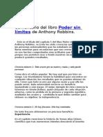 Comentario del libro Poder sin límites de Anthony Robbins.doc