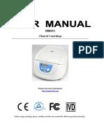 12300194_DM0412 Clinical Centrifuge User Manual_DRAGONLAB_en&Cn