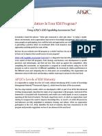 K03302 Understanding the APQC KM CAT