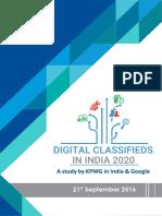 Digital Classifieds India 2020
