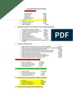 Lista de Requerimiento de Materiales