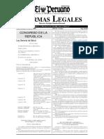 Ley de Salud 26842 (1997)